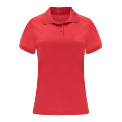 T8F- Polo femme 100% polyester