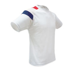 c91-Tshirt polyester maillot france lot personnalisable sport trail