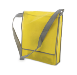 c92 - Sac besace jaune -Musette cycliste