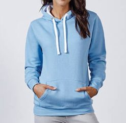 Sweat shirt capuche polyester objet promotionnel
