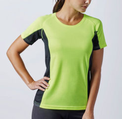 T-shirt technique running
